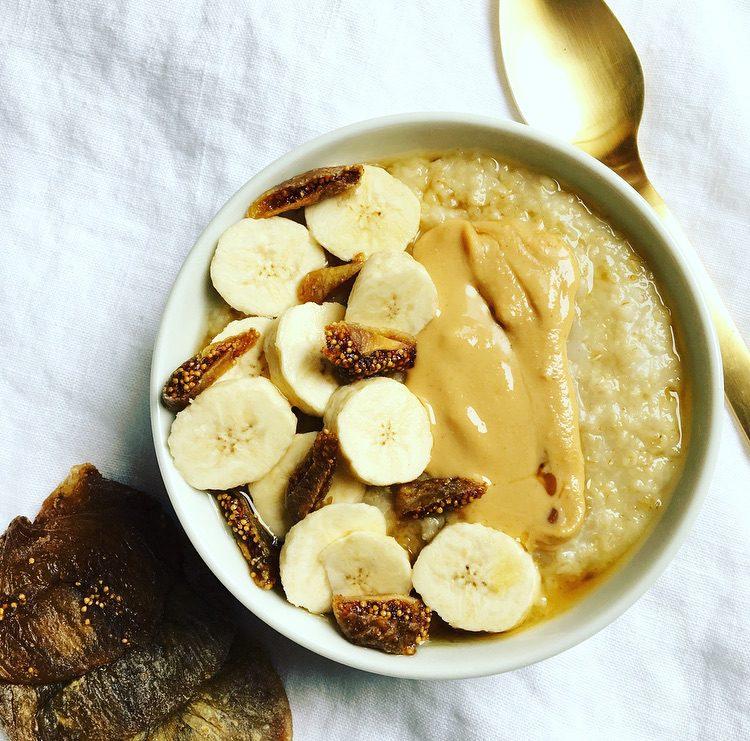 porridge aux figues