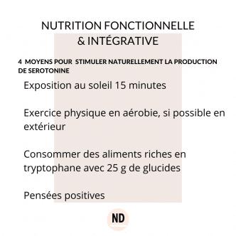 La sérotonine : 4 moyens pour augmenter sa production